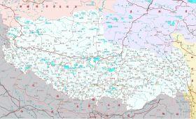 最新西藏地图下载