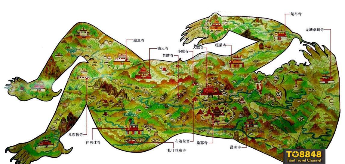 西藏拉萨镇魔图